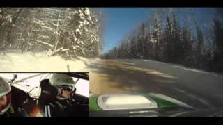 PerceNeige 2012 - EC2 - OnBoard - MIURA Rally Team - Voiture 21