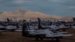 أكبر مقبرة للطائرات الحربية في العالم