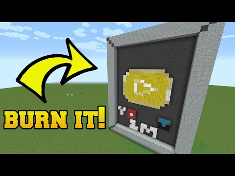 IS THAT THE YOUTUBER DIAMOND PLAY BUTTON?!? BURN IT!!!