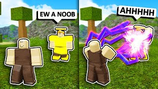 NOOB w/ VOID BOLT TROLLING #2! *Noob Disguise* (Roblox Booga Booga)