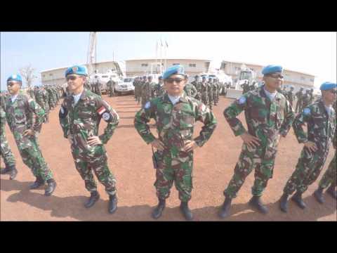 PRAJUTIR TNI DI REPUBLIK AFRIKA TENGAH, PREPARE TO GO HOME
