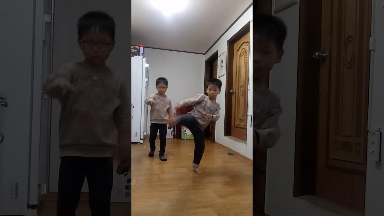 동생들의 춤!