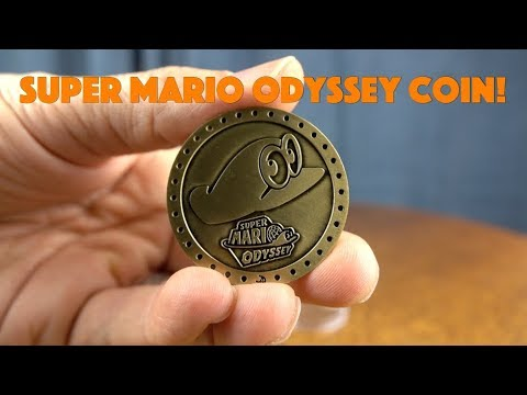 Super Mario Odyssey Collectable Coin!