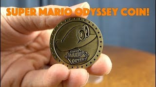 Super Mario Odyssey Collectable Coin!
