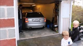 "Audi B6 VR6 3"" single sound"