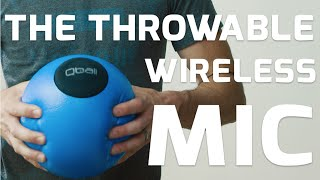 Qball - The Wireless Mic You Can Pass, Drop, Throw, & Roll - Peeq