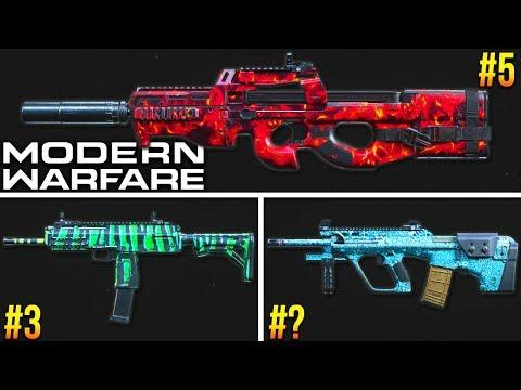 Modern Warfare: RANKING Every SMG! (Best Class Setups)