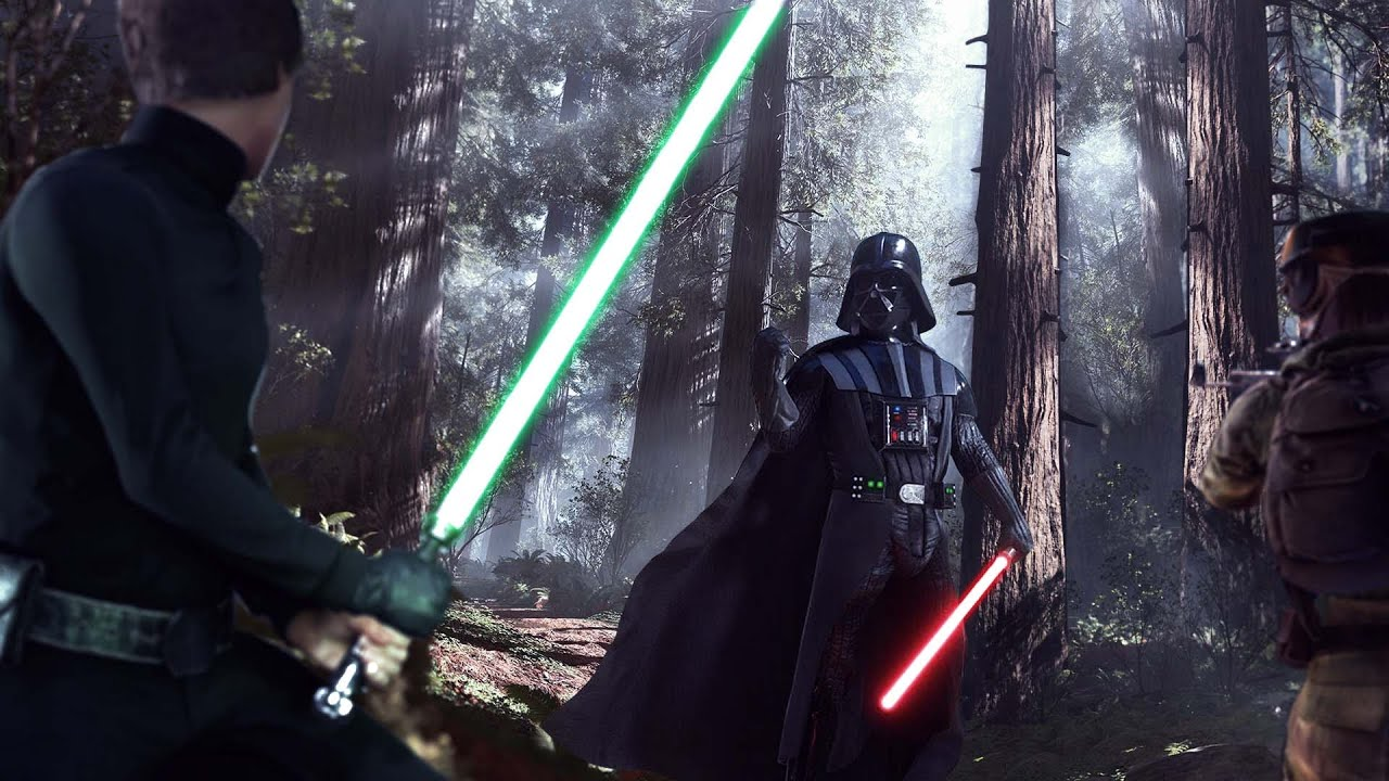 Star Wars Battlefront Luke vs Darth Vader Wallpaper With ...