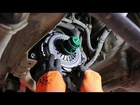 Как заменить сцепление на Daewoo Matiz Дэу Матиз 0,8 2011 года 2часть