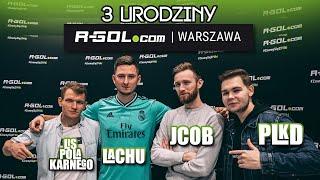 PLKD, Lachu, Jcob i Lis Pola Karnego na 3. urodzinach R-GOL.com Warszawa!
