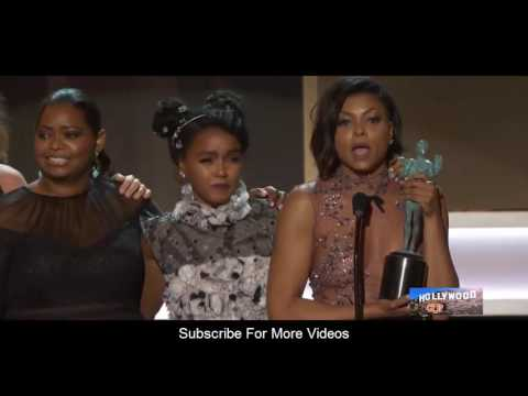 Hidden Figures (Best Cast) Speech  at The 23rd Annual Screen Actors Guild Awards 2017