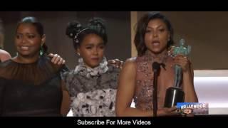 Hidden Figures (Best Cast) Speech  at The 23rd Annual Screen Actors Guild Awards 2017 Video