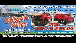 2019 chevrolet silverado introduction tailgate party at stan mcnabb of columbia, tn