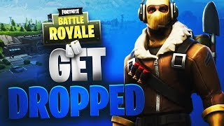 Get Dropped | Solo Win | Fortnite | No Commentary