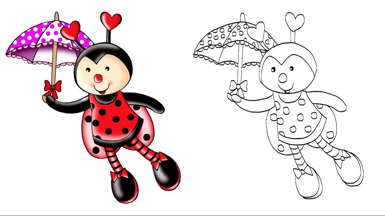 Desenho Joaninha ~ Desenhando a Galera TUBKID JOANINHA Vídeo Infantil Desenho para Crianças YouTube