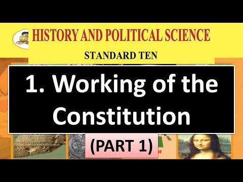 working-of-the-constitution---10th-maharashtra-state-board-history-&-political-science-new-syllabus