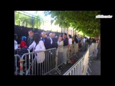 Consulat d'Algérie à Paris :  Ferme ta gueule !