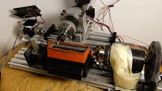 DIY extrusion screw maker.