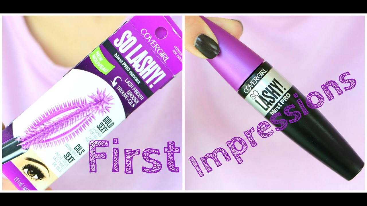 a565b56cec0 COVERGIRL So Lashy! Mascara | First Impressions - YouTube