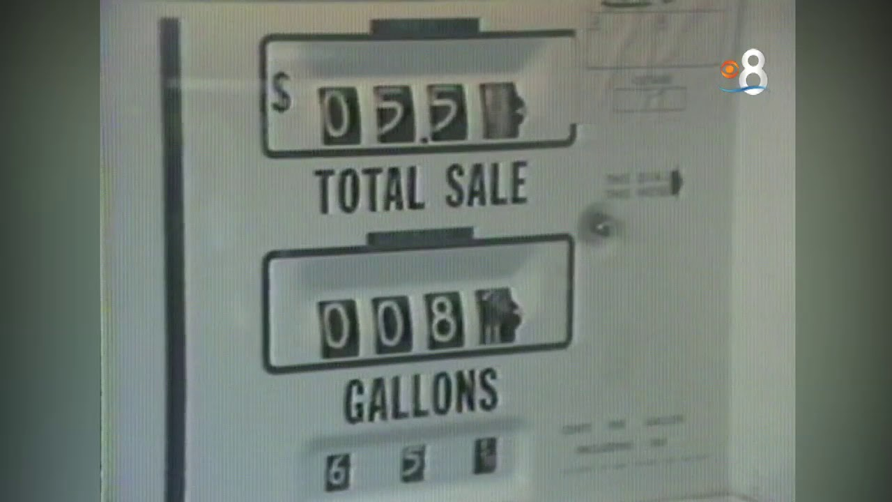 Gas Prices San Diego >> News 8 Throwback 1978 San Diego Gas Prices In The Summer Soar To 72 Cents