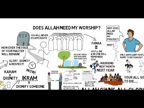 DOES ALLAH NEED MY WORSHIP? - Nouman Ali Khan Animated