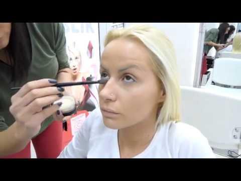 Atina Ferari u kozmetickom salonu Stardust - Zvezda na 24 h