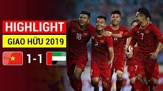 Highlight U22 Việt Nam 1 - 1 U22 UAE: ĐỨC CHINH Đánh Đầu Tung Lưới Đối Phương Gỡ Hòa UAE Kịch Tính