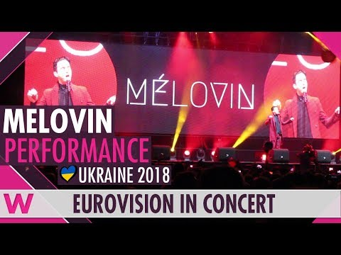 "MELOVIN ""Under the Ladder"" (Ukraine 2018) LIVE @ Eurovision in Concert 2018"