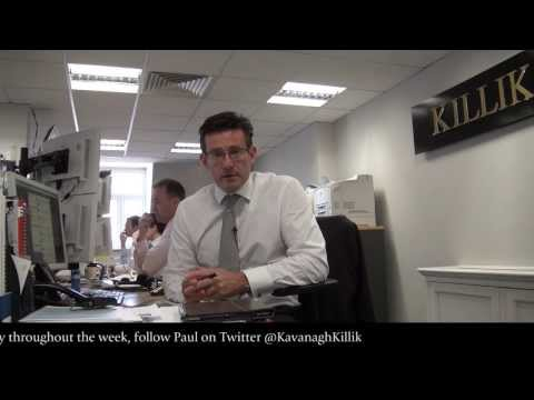 Paul Kavanagh's Market Update, 12 August 2013
