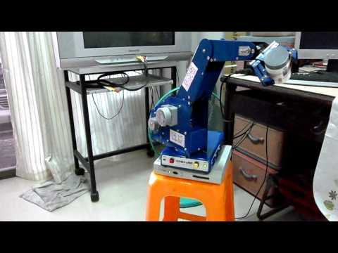 DIY ARM ROBOT Control By Qbasic (Parallel Port)