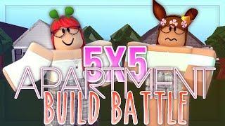 5x5 APARTMENT BUILD BATTLE WITH NXPTUNEZ - Roblox Bloxburg Build Battle Speedbuild