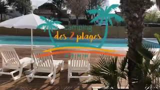 Espace aquatique du camping des 2 Plages à Saint-Palais-sur-mer