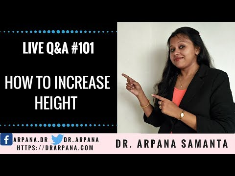How To Increase Height || Live Q&A Session #101