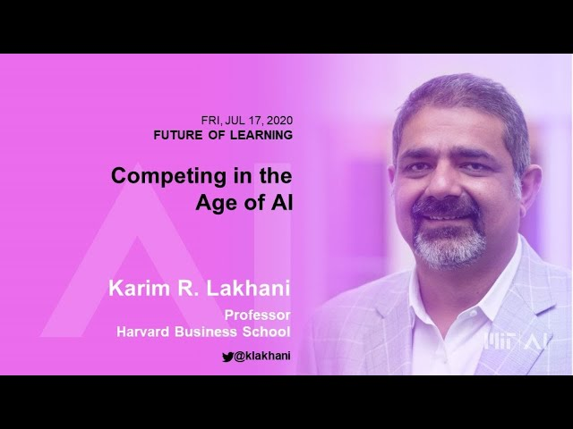 8:30am: Competing in the Age of AI