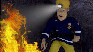 Into the Bat Caves! 🔥 Best Firefighter Rescue ⭐️ Fireman Sam US | Firefighter Videos