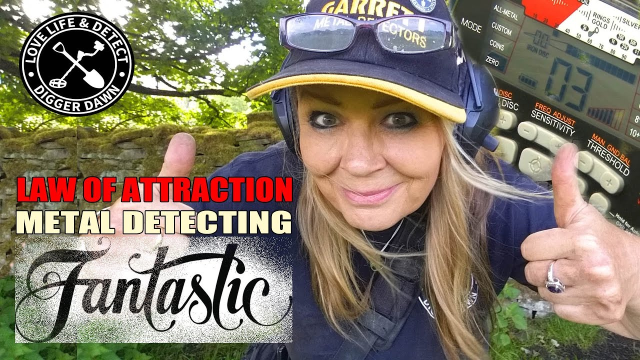 Fantastic Metal Detecting Hunt - Do you believe in the Law of Attraction? I Garrett AT Max