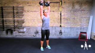 Unapologetically Powerful Demo: Kettlebell Double Strict Press