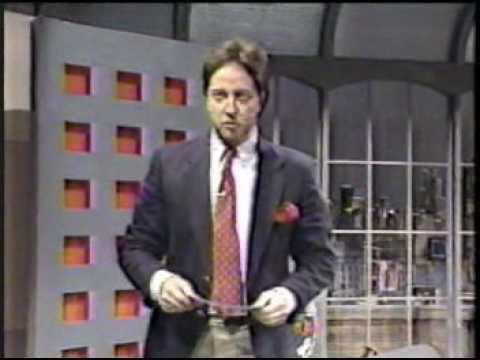 Chris Elliot Jr. on Late Night w David Letterman, 2/4/88