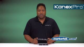 KanexPro 3 Input DisplayPort, HDMI & VGA Collaboration Switcher Scaler Over HDBaseT