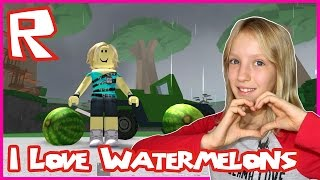 I Love Watermelons / TreeLands Roblox