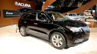 2016 Acura MDX Preview: 2015 Chicago Auto Show