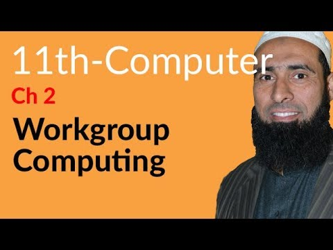 ICS Computer part 1,Ch 2,Work Group Computing- ICS/FSC Part 1- 11th Class