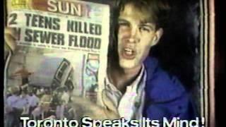 Citytv Speakers Corner 1990