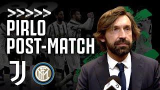 PIRLO POST MATCH Juventus 0 0 Inter Coppa Italia