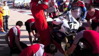 Albacete 8-hour race - first pit stop