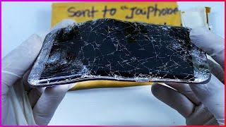Destroyed Phone Restoration   Restore Samsung Galaxy S7 edge   Rebuild Broken Phone