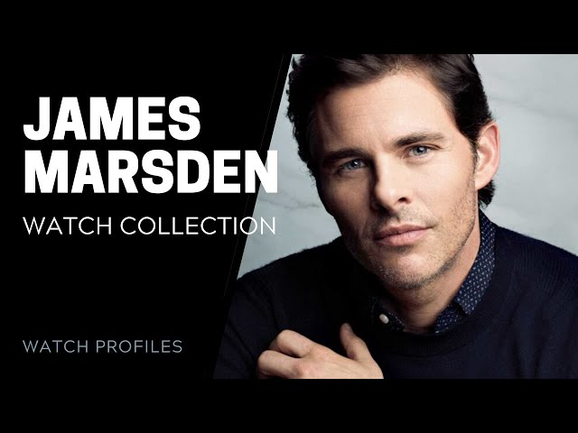 James Marsden Watch Collection | SwissWatchExpo [Celebrity Watch Collections]
