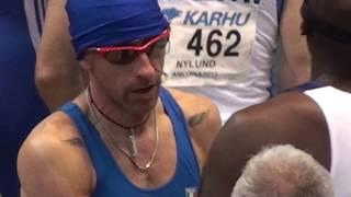 World Record M50 60m. 7.04 sek. Ancona 2016