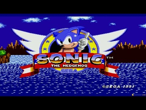 Sonic the Hedgehog gameplay (PC Game, 1991) thumbnail