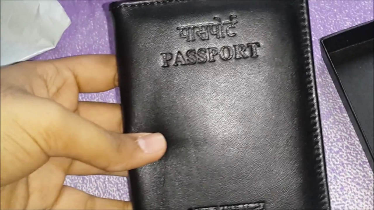 1e233a3eb62 Indian Passport cover from PSK(Passport Seva Kendra) - YouTube